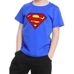 ΚΟΝΤΟΜΑΝΙΚΟ T-SHIRT SUPERMAN (3-5 ΧΡ.)